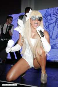 GaGa and Her Disco Stick