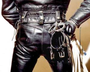 Leather Cuffs Keys